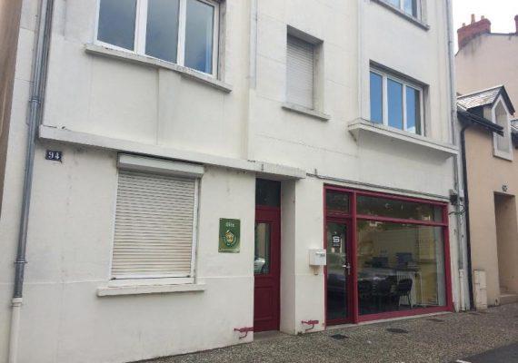 Appartement avec garage proche Belle-Isle et centre ville
