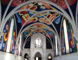Fresques église du Menoux