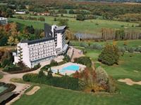 Grand Hôtel Les Dryades Vue aérienne