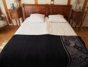 HOTEL LA SOLOGNOTE BRINON SUR SAULDRE CHAMBRE LIT