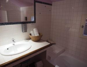 HOTEL LA SOLOGNOTE BRINON SUR SAULDRE SALLE D'EAU
