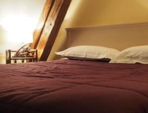 HOTEL LOGIS SAINT JOSEPH SANCOINS CHAMBRE VIOLETTE