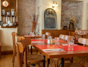Bistrot des Damnés salle de restaurant