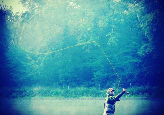 Pêche dans le Pozon
