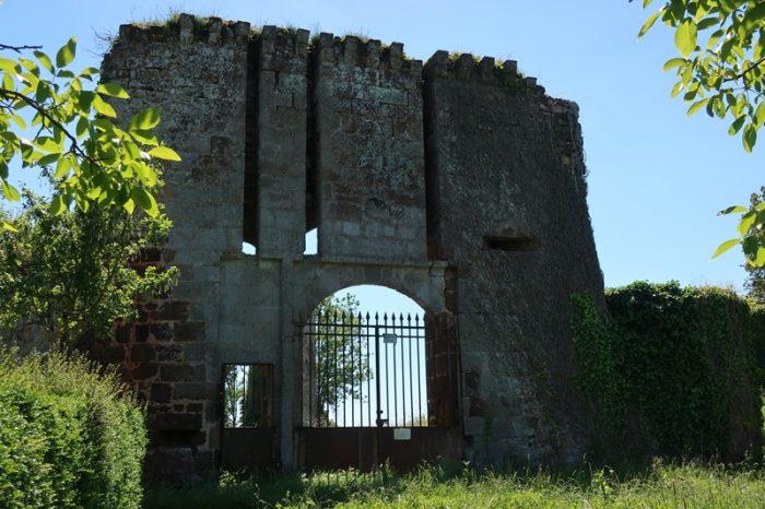 Ruines de Brosse, Chaillac