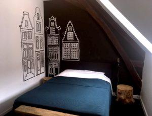 Chambre 4 «Amsterdam» 18m2