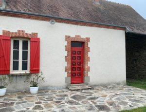 La maison du pêcheur – Extérieur arrière – Baraize – Guibaud