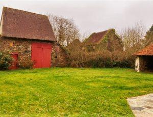La maison du pêcheur – Vue générale jardin – Baraize – Guibaud