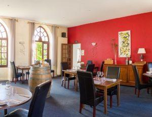 Le Prieuré salle à manger