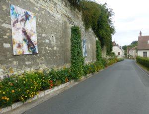 Les remparts du château Veuil