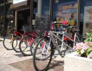 Location de vélos à l'office de tourisme de «Châteauroux Berry tourisme»