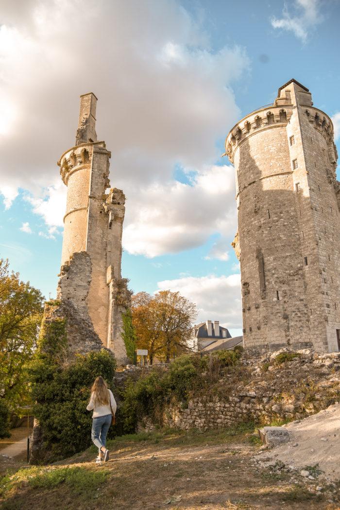 Château Charles VII Mehun-sur-Yèvre ©La Valise à fleurs