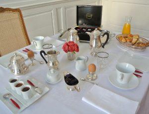 Maison Colladon petit-déjeuner