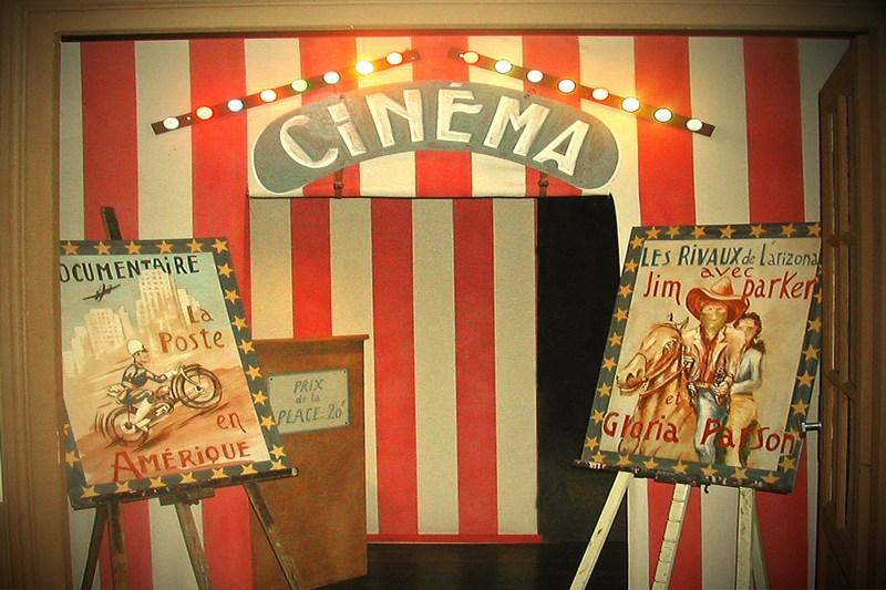 Le cinéma à la Maison de Jour de Fête - © Droits réservés