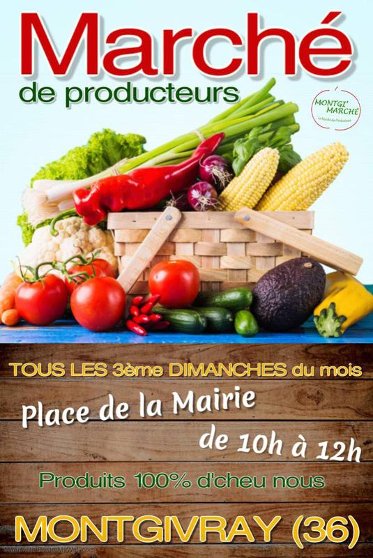 Marche de producteur Montgivray