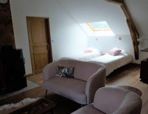 Meuble-de-tourisme-Aubigny-sur-Nere-Le-Buisson-de-la-Gariole-Espace-sommeil