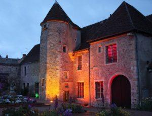 Musée Saint-Vic de nuit