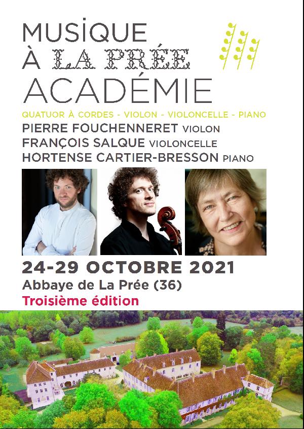 Musique a la pree – Academie 2021