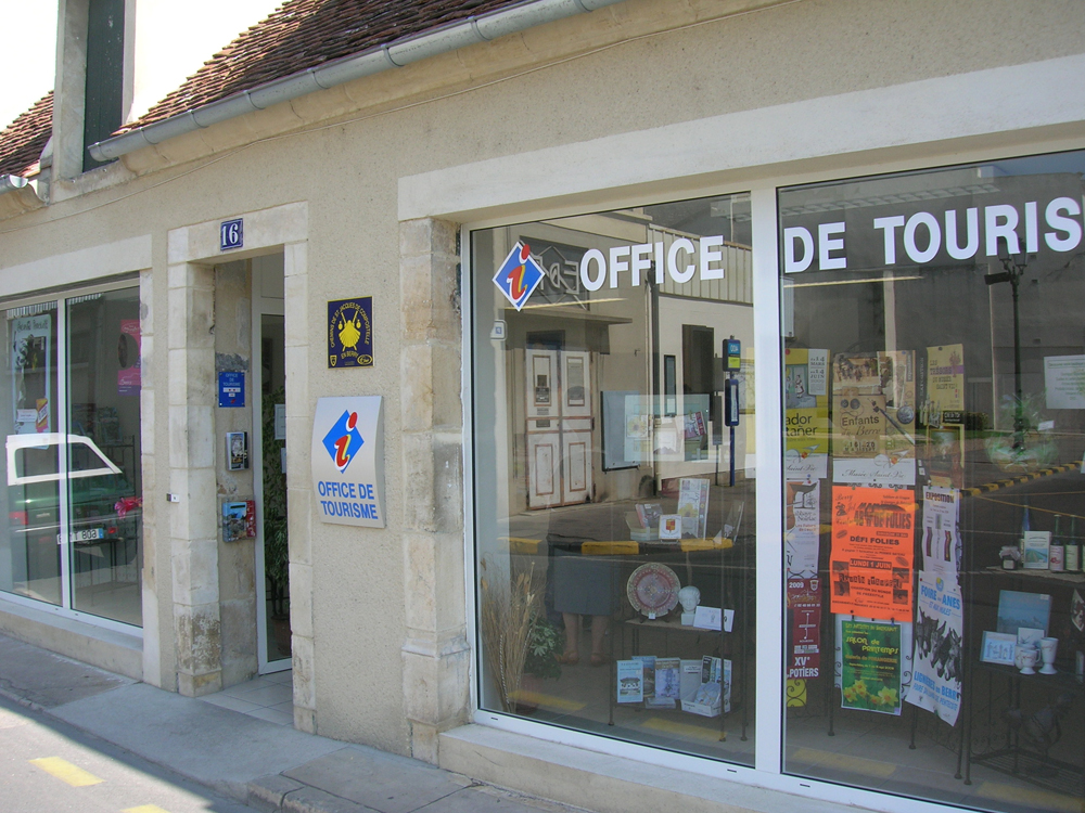 office de tourisme 18200