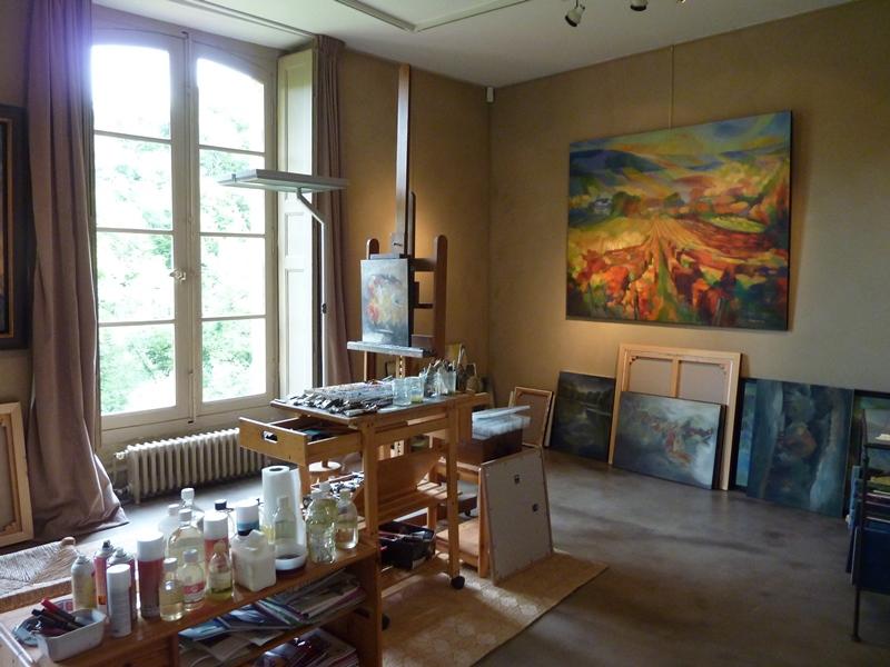 Galerie d'exposition au Château de Gargilesse à GARGILESSE-DAMPIERRE - Equipements de loisirs - Berry Province