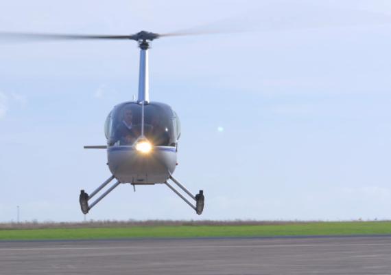 Egide Aviation – Vue du ciel en hélicoptère