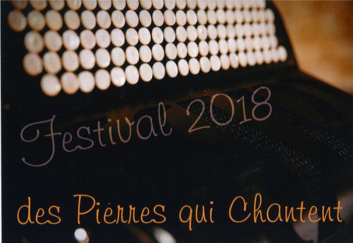 Festival Pierres qui chantent 2018