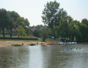 Plan d'eau de la Foulquetière à Luçay-le-Mâle