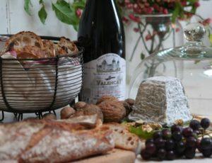 Fromage et vin de Valençay