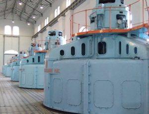Salle des machines usine hydroélectrique EDF