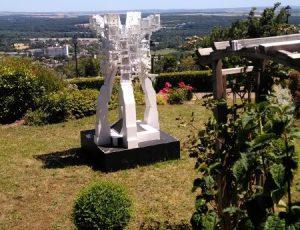 Sculpture depuis la terrasse Sancerre