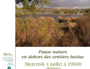 Balade nature Rosnay