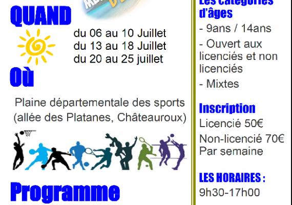 Stage d-ete multisports ASPTT