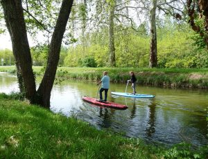 Step paddle