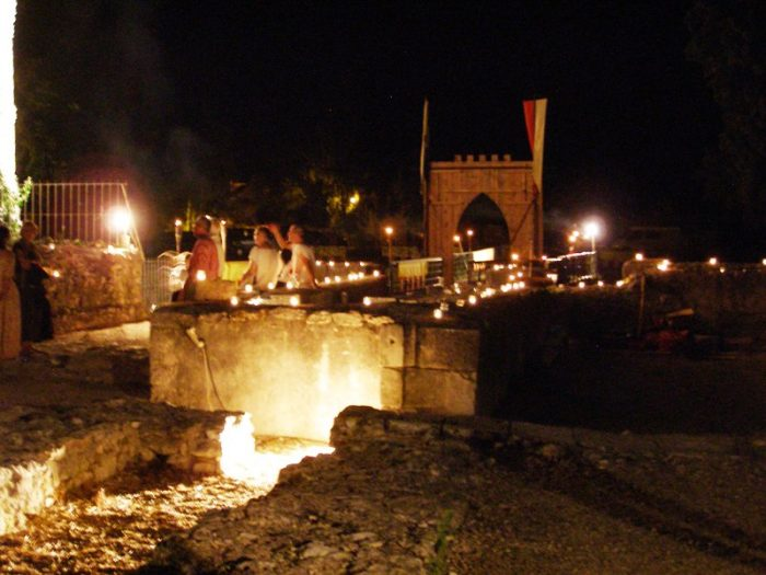 Visite Nocturne du Château du 14 août