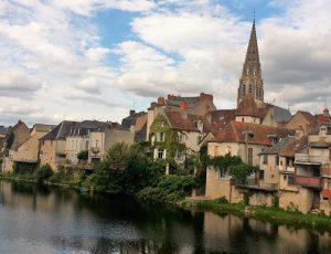 Vue d'Argenton sur Creuse