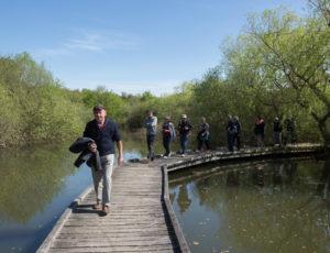 Voyage entre les étangs et le canal des cinq bondes – A la maison de la nature
