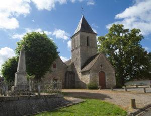 Le Saint-Fleuret – L'église de Sauzelles