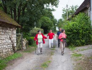 La Creuse entre val et coteau – Traversée d'un hameau à Lurais
