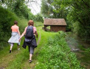 Balade en bord de Creuse – Vers le lavoir des Chézeaux