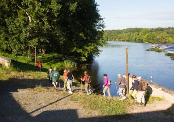 Entre Creuse et Suin – La Creuse au stade d'eau vive de Tournon St Martin