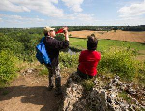 Point de vue sur la vallée de la Creuse