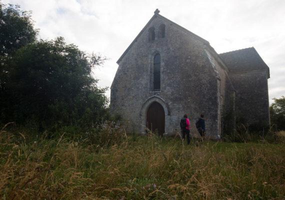 Par la voie verte – Ancienne église