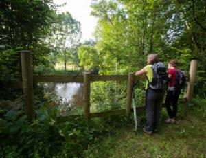 Par la voie verte – Pause en bord de Creuse