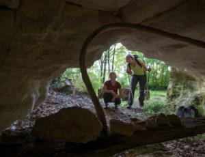 Par la voie verte – Grotte