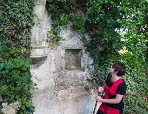 Vestiges de l'ancienne chapellle à Pezay