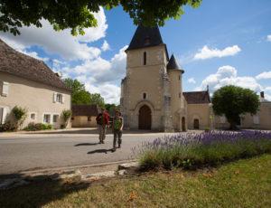 De la Benaize à l'Anglin – Au départ de l'église de St Hilaire
