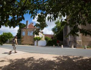 Le val d'Anglin – Au départ du bourg de Mauvières