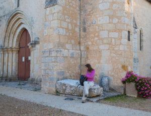 Le Suin, du calcaire à l'argile – Au départ de l'église