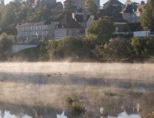 Circuit du viaduc – La Creuse au Blanc dans la brume