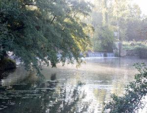 Balade entre la Claise et le Chambon – Vue sur la Claise